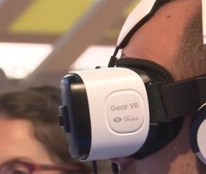 Gafas Gear VR de Samsung