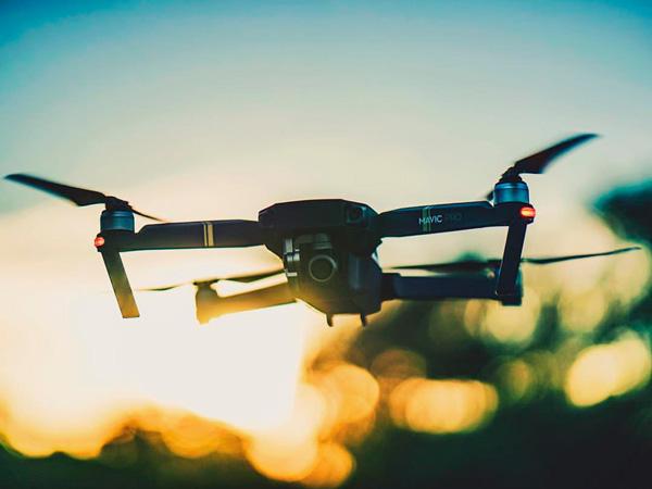 vídeo con dron