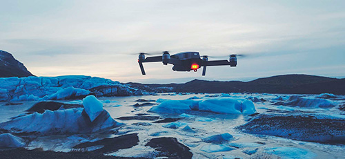 dron para vídeos